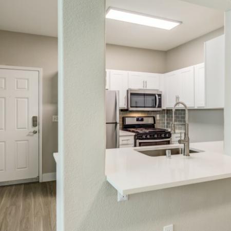 NEW Renovated Kitchen Area with Quartz Countertops