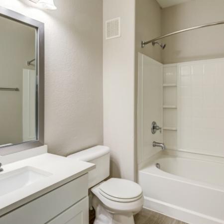 Renovated Bathroom with Soaking Tub