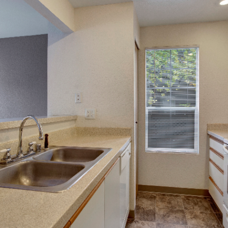 Sleek Kitchen Classic Finish  |  | Westview Village Apartments | Apartments In Renton