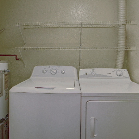 In-Unit Washer and Dryer | Westview Village Apartments | Renton Apartments 1 Bedroom