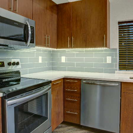 Spacious Kitchen | Two Bedroom Apartments In Dupont Wa | Trax at DuPont Station