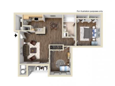 The Fieldstone  |  Apartments in Ashburn VA  | Grove at Flynns Crossing Apartments