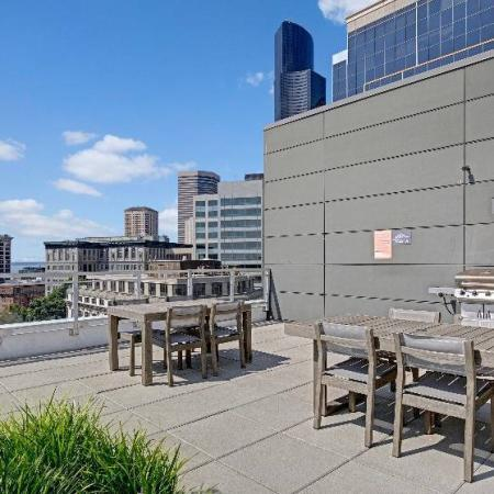 Roof Top   HANA Apartments   Seattle Apartment For Rent