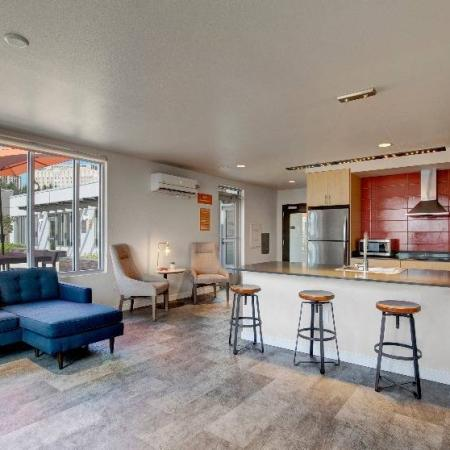 Resident Kitchen   HANA Apartments   Seattle Apartment For Rent