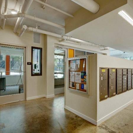 Mail Room   HANA Apartments   Apartments Seattle WA