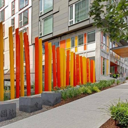 Street View   HANA Apartments   Seattle Apartments