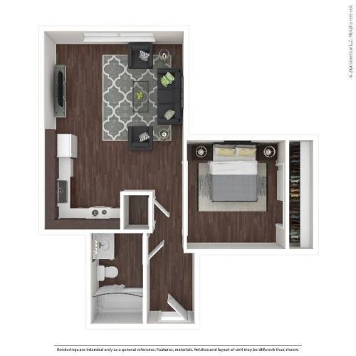 Urban One Apartment | HANA Apartments | Seattle Apartments