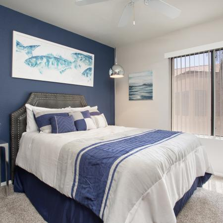 Spacious Master Bedroom | Apartments Homes for rent in Phoenix, AZ | Mountain Park Ranch