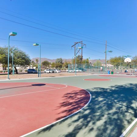 Community Basketball Court | Apartments Homes for rent in Phoenix, AZ | Mountain Park Ranch