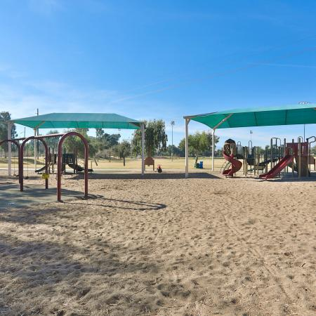 Resident Children's Playground | Apartments Homes for rent in Phoenix, AZ | Mountain Park Ranch