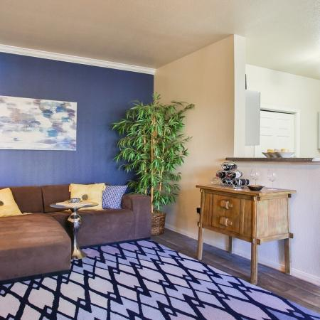 Spacious Living Area | Apartments Homes for rent in Phoenix, AZ | Arboretum at South Mountain