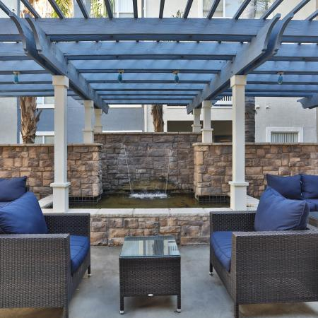 Resident Outdoor Lounge | Apartment Homes in Phoenix, AZ | Arboretum at South Mountain