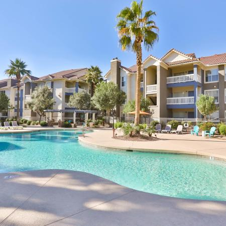 Sparkling Pool | Apartments for rent in Phoenix, AZ | Arboretum at South Mountain