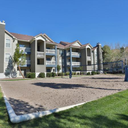 Sand Volleyball Court | Phoenix AZ Apartments For Rent | Arboretum at South Mountain