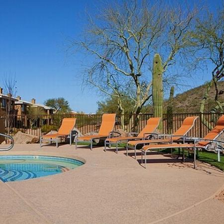 Sparkling Pool | Apartments for rent in Phoenix, AZ | Mountainside Apartments