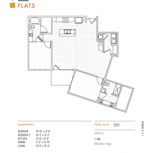 1 Bed / 1.5 Bath Apartment In Lenexa KS