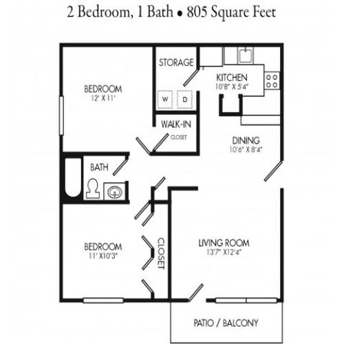 2 Bedroom Apartment Unit. Rent by Bed or Full Unit.