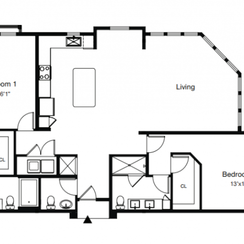 Floor Plan 5 | Apartments In Sarasota Fl | ARCOS