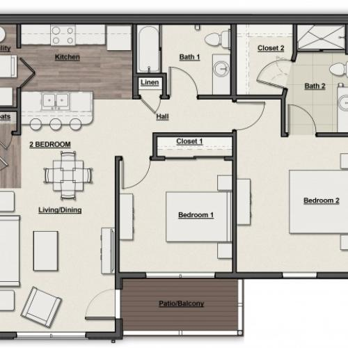 Overlook Floor Plan
