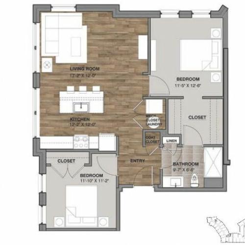 Two Bedroom - Unit N
