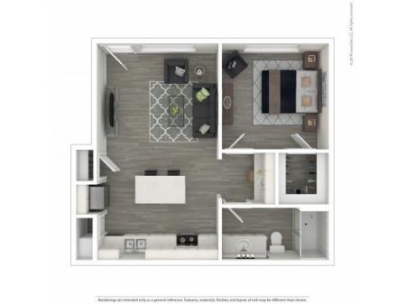 1 Bedroom/ 1 Bath