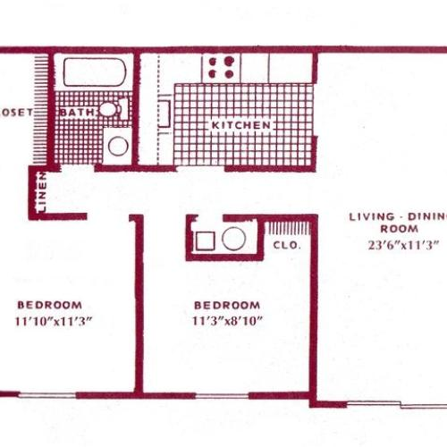 Woodview Apartments: 1 Bed / 1 Bath Apartment In Ft. Wayne IN