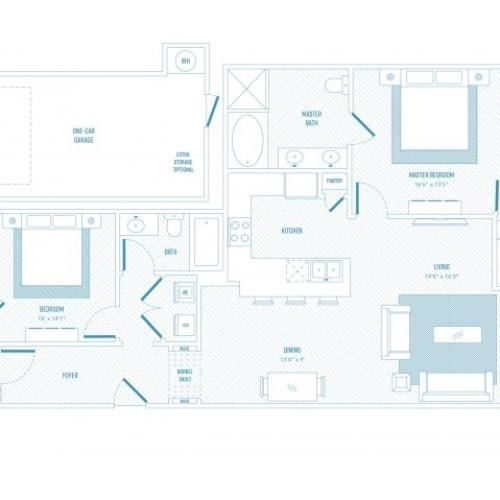 Zest Floor Plan