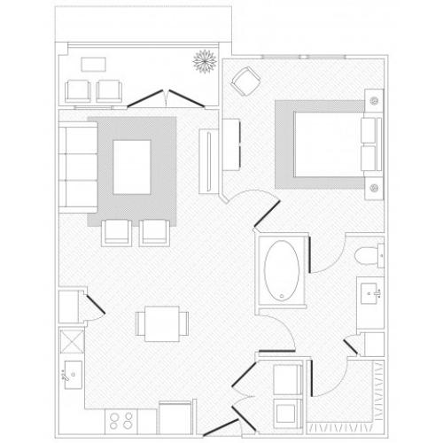 Lady Bird Floorplan