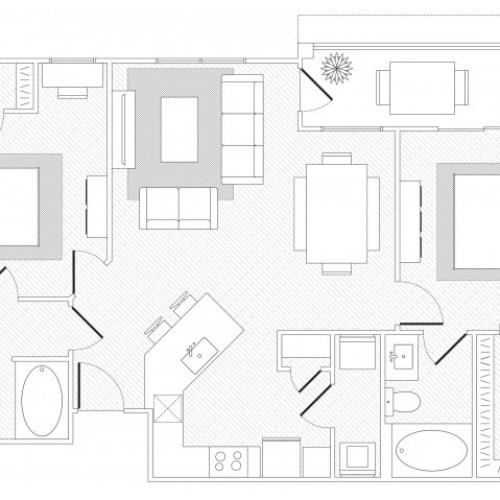 Zilker Floorplan