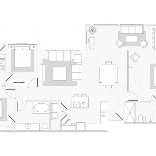 Oak Hill Floorplan