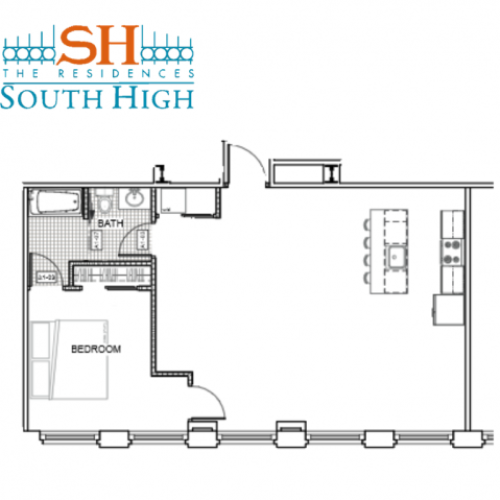 Residences at South High