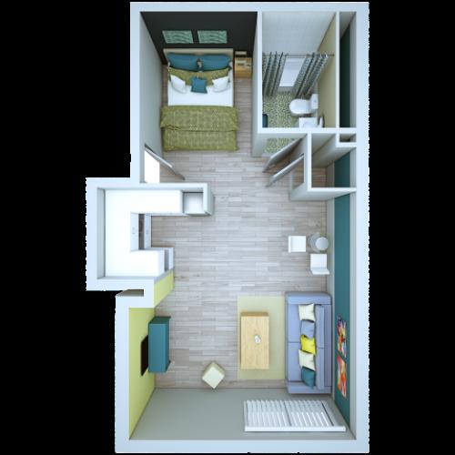 Junior 1 Bedroom