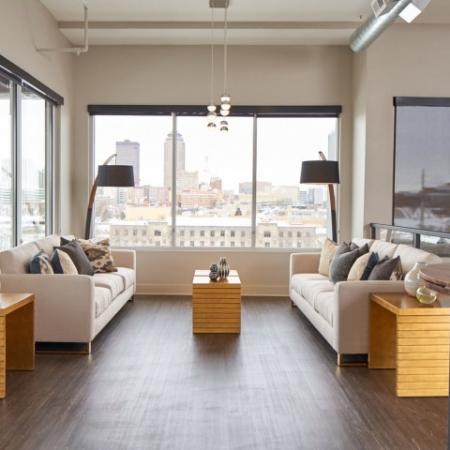 Spacious Living Room | Apartments in Des Moines, Iowa | Velocity