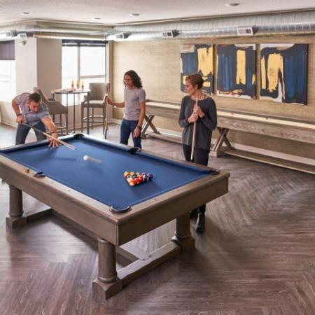 Resident Game Room | Apartments in Des Moines, Iowa | Velocity