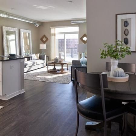 Luxurious Living Room | Apartment Homes in Des Moines, Iowa | Velocity