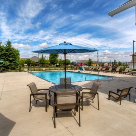 Resort Style Pool | Apartments in Waukee, Iowa | The Winhall of Williams Pointe