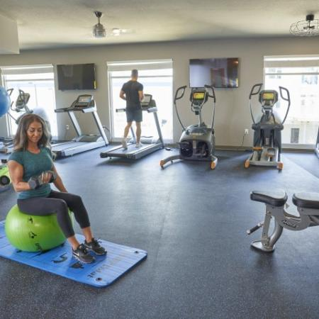 State-of-the-Art Fitness Center | Apartment Homes in Des Moines, Iowa | Verve