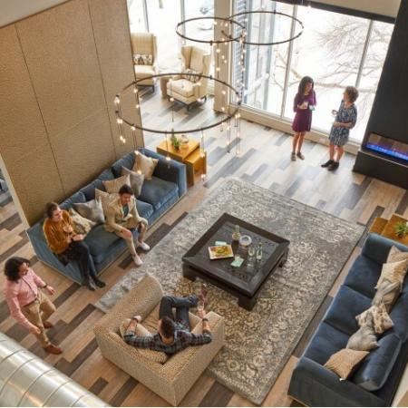 Elegant Living Area | Apartments Des Moines, Iowa | Velocity
