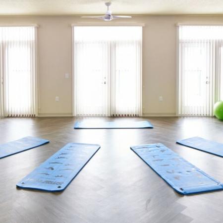 Resident Yoga Studio | Apartments in Des Moines, Iowa | Velocity