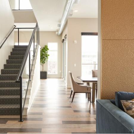 Spacious Hallway | Apartments in Des Moines, Iowa | Velocity