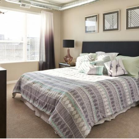 Vast Master Bedroom | Des Moines Iowa Apartments For Rent | Velocity