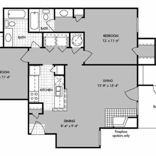 Apartments In Bossier City La: 1 Bed / 1 Bath Apartment In Bossier City LA