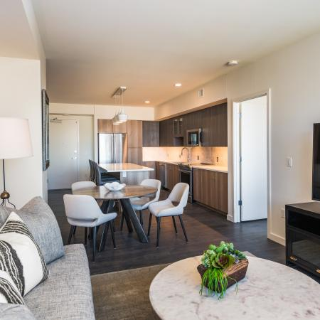 Spacious Living Area | Apartments Homes for rent in Denver, CO | Union Denver