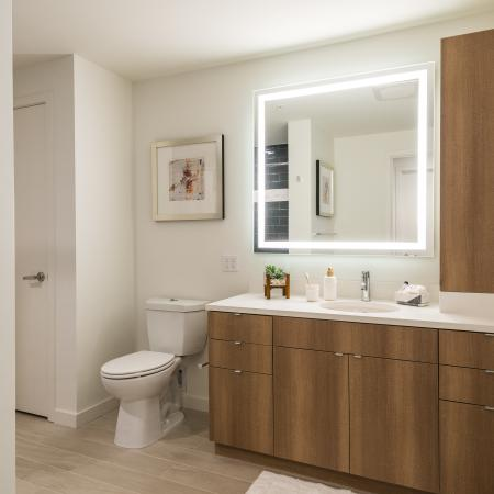 Luxurious Bathroom | Apartments for rent in Denver, CO | Union Denver