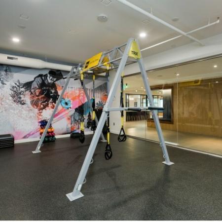 TRX fitness room