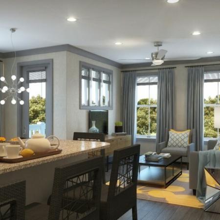 Elegant Living Room | Apartments Near Louisville KY | Greystar