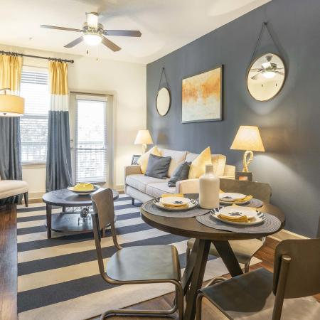 Azure Apartments - Model Dining room