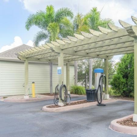 Azure Apartments - Car Wash