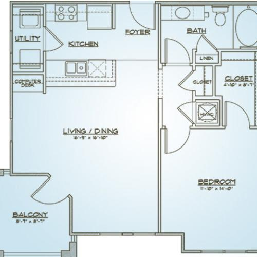Apartments In West Ashley Sc: 1 Bed / 1 Bath Apartment In Charleston SC