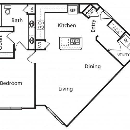 B7 | One Bedroom One Bathroom